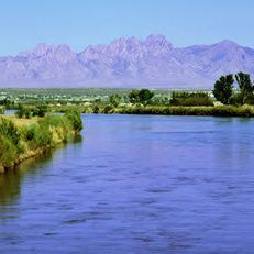 The beautiful Organ Mountains overlooking the Rio Grand River in the Mesilla Valley where you find a wonderful town called Las Cruces, New Mexico.