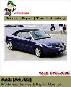1996 1997 audi a3 workshop service repair manual car service rh pinterest com Red 1996 Audi Cabriolet Red 1996 Audi Cabriolet