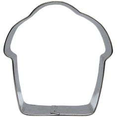 """3 1/2"""" Cupcake Cookie Cutter from Layer Cake Shop!"""