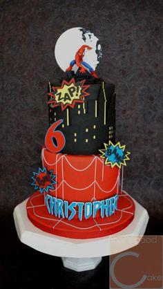 Spiderman Cake Ideas for Little Super Heroes - Novelty Birthday Cakes Spiderman Cake Topper, Spiderman Birthday Cake, Cupcake Birthday Cake, Superhero Cake, Cupcake Party, Cupcakes, Cupcake Cakes, Novelty Birthday Cakes, Character Cakes