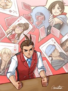 "aeridis: ""Third image is Apollo Justice and his group. """