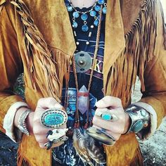 Love the rings and fringe.