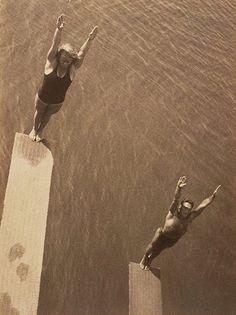 Die springer, c.1930s by Aurel Abramovici