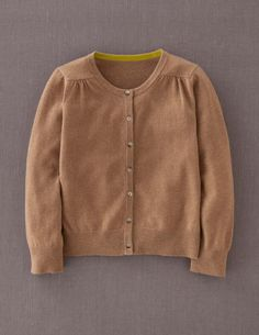 Cropped Cashmere Crew Neck