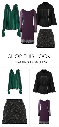 """Trends for Fall 2016: Metal Details"" by loriwynne on Polyvore featuring Plein Sud, Roland Mouret, Alexander Wang and Raishma"