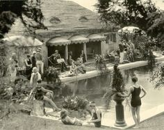 """Half Pudding Half Sauce: """"HILL GROVE"""" RESIDENCE OF MR. GEORGE LEWIS, BEVERLY HILLS, CALIFORNIA"""