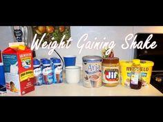 Weight Gain Shake For Skinny Women | How To Gain Weight