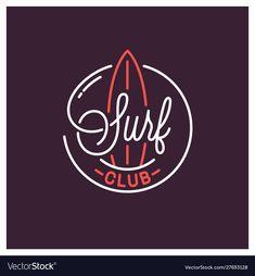 Surfboard Brands, Fathers Day Banner, Surf Logo, Chalkboard Vector, Palm Tree Vector, Best Logo Design, Branding Design, Graphic Design, Drinks Logo