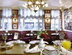Salzburg, sacher cafe - Hotel der Salzburger Hof