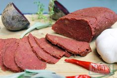 This spicy seitan gets it's red color from beets. The combination of spices in this recipe are similar to those you might find in pepperoni, giving this seitan a hearty, smoky flavour that is great in sandwiches, stir fries, and other savory dishes. I was just trying to use up the beets that had been …
