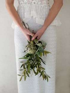 Bella Toscana Styled Shoot by TopVendor & Claire Harries Herb Wedding, Tuscan Wedding, Wedding Flowers, Vegetable Bouquet, Nature Inspired Wedding, Bride Bouquets, Bridesmaid Bouquets, Botanical Wedding, Budget Fashion