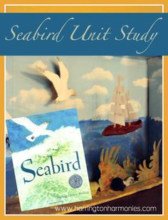 Follow these ideas and resources for a Seabird unit study in your homeschool. We used the book by Holling Clancy Holling.