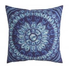 Cojines Decorativos Azules Charmoy X, juego de 2 unidades http://www.nuryba.com/textiles/cojines-decorativos