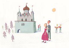 love  Original illustration by behappynow on Etsy