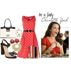 Look inspired by Charlotte York #SATC