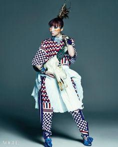 2NE1's Minzy in Vogue