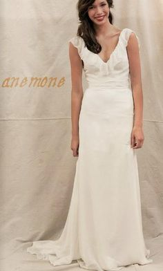 Ivy & Aster - Anemone. Beautiful casual wedding dress.