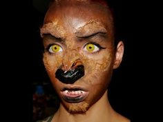 Halloween Series 2013: Werewolf Makeup Tutorial ft. Spirit Halloween pro...