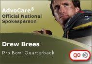Drew Brees Advocare endorser