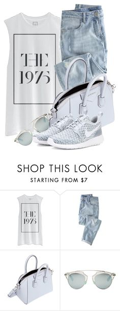 """""""Casual Style"""" by monmondefou ❤ liked on Polyvore featuring Wrap, Givenchy, Christian Dior and NIKE"""