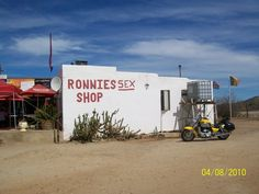 Roadside rest stop great name Route 62 South Africa