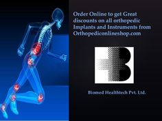 Biomed Healthtech is one of the best suppliers of #orthopedicinstruments and implants.