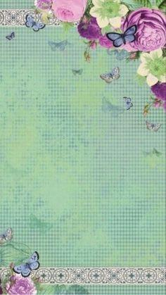 Perfecta combinación flores y mariposas