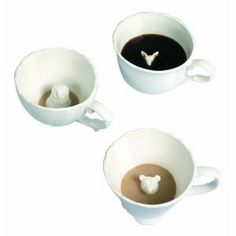 Antropologie teacups...too cute...too expensive! This girl DIY'd her own. I'm doing this!