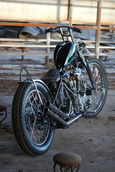 1945 Harley Davidson Knucklehead by Jeremiah Armenta's Love Cycles