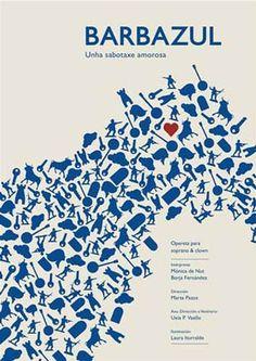 Hoxe teremos a primeira oportunidade para ver: Barbazul, unha sabotaxe amorosa, en Santiago de Compostela.