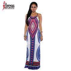 Vestido Bodycon Plus Size Dashiki Africano em Viscose                                                                                                                                                                                 Mais