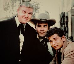 Lorne Greene, Pernell Roberts and Michael Landon lovely picture