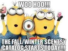 Time to go ba-na-na-na-na-nas!!  The new Fall and Winter 2013 Scentsy Catalog has launched!! You can place your order by going to my website or by messaging me if you would like me to assist you in inputting your order.  Happy Scentsational Shopping!   https://shawnaaustin.scentsy.us