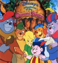 The Gummi Bears! One of the best 80's cartoon theme songs, hands down.