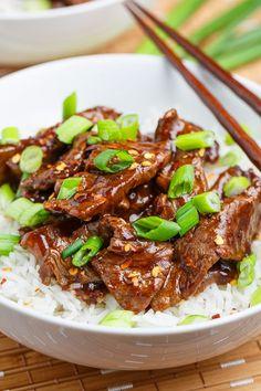 Mongolian Beef - Closet Cooking