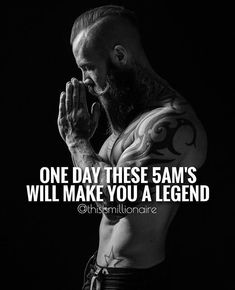 4AM keep on it til you no longer need the alarm because your mind and body crave it.