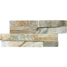 Desert Quartz Ledgestone Natural Stone Indoor/Outdoor Wall Tile (Common: 6-in x 12-in; Actual: 6-in x 11.87-in)