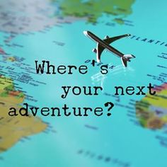 Where's your next adventure? Part of the joy of the journey for me is planning and dreaming about what's to come next. Are you creating your next adventure? This could be something fun today, a big trip, or even a Pinterest vision board for the future.