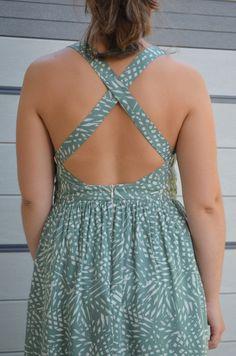 La robe ALESIA - Cosy Little World - 3filles-et-dufil Creation Couture, Cosy, Backless, Creations, Dresses, Fashion, Woman, Vestidos, Moda