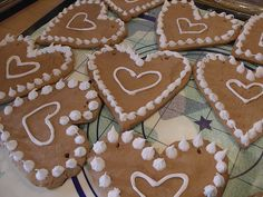 Original German recipes for German Lebkuchen hearts  - they are very popular on all German fairs, Oktoberfest and Christmas markets. There are booths which sell customized hearts with names etc.