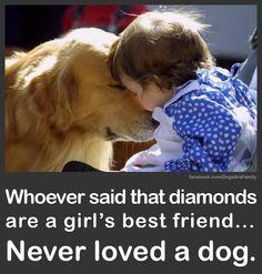 Baby loves dog