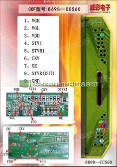 COF/TAB Flying Line, Flying Wire Figures for LCD LED TV screen repairing. Sony Lcd Tv, Sony Led, Lcd Television, Tv Panel, Electronic Circuit Projects, Electronics Basics, Tv Display, Electronic Schematics, Tv Services