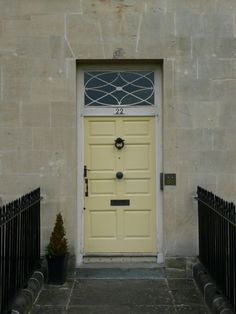 The famous u0027yellow front dooru0027 in the Royal Crescent. In the & Pictures Of Front Doors On Houses Interesting Idea 19 Home And House ...