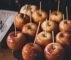 caramel apple season @dcbarroso