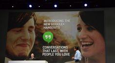 أيضا يستطيع المستخدم  مشاهدة دخول وخروج المشاركين في المحادثات الجماعية على خدمة Hangouts ، ليبقى المستخدم على اطلاع ومعرفة بحالة بقية المستخدمين المتواجدين في نفس الدردشة. كما يدعم تطبيق Hangouts مكالمات الفيديو الجماعية حتى 10 مستخدمين      Read more http://www.smarttecs.net/google-io-2013-%d8%a7%d9%84%d9%83%d8%b4%d9%81-%d8%b9%d9%86-%d9%85%d9%86%d8%b5%d8%a9-%d8%a7%d9%84%d8%af%d8%b1%d8%af%d8%b4%d8%a9-%d8%a7%d9%84%d9%85%d9%88%d8%ad%d8%af%d8%a9-hangouts/