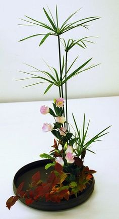 """Yamato Misyoryu"" Ikebana Exhibition in Kusatsu by Mai Wakisaka Photography, via #Flower Arrangement:"