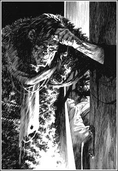 Cap'n's Comics: Frankenstein by Berni Wrightson