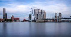Panorama from Leuvehoofd, Rotterdam.  Photographer: Rémon Lourier