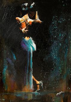 To step in water, pivot in the wind, find the rhythm of the earth and the desire beneath the flames. When the breath becomes one is where a tango dance starts.