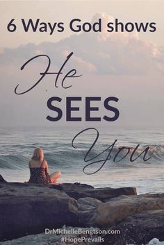 What circumstances are you facing today? Let me encourage you. God sees YOU. He hasn't left you. He knows right where you are, and He's there with you, loving you and providing for you. Go to Him and let Him carry those burdens, and let Him give you rest. Christian Inspiration.